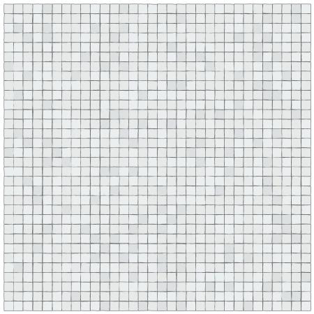 bathroom tile: Pattern of irregular little tiles Illustration