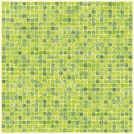 life style people: Scibbles pixels green background