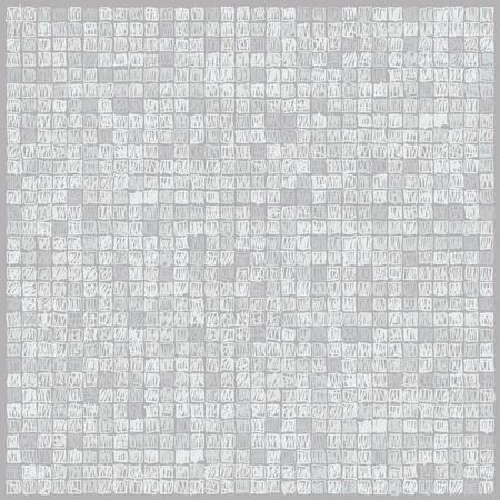 Scibbles pixels light gray background Stock Illustratie