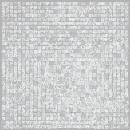 Scibbles pixels light gray background Ilustração