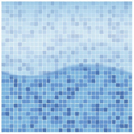 swimming pool water backgound Vector