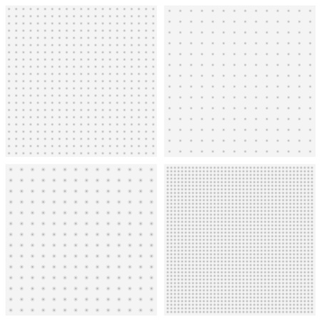 orthogonal: Vector texture of blurred gray dots