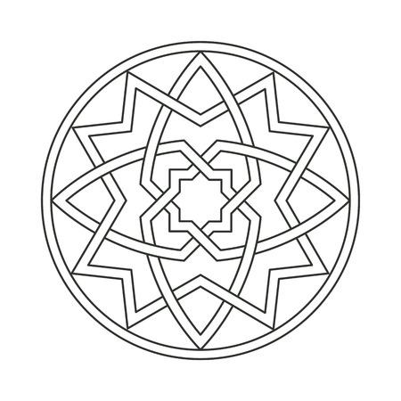 gothic ornament interlaced motif