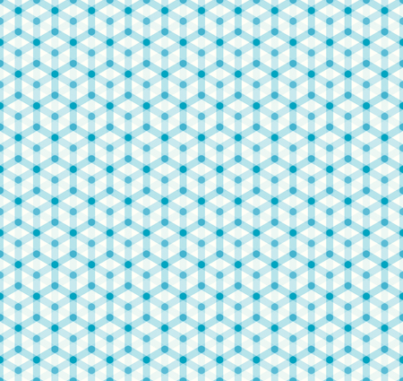 simple seamless hexagonal pattern Vector