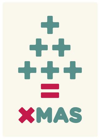 consumerism christmas card