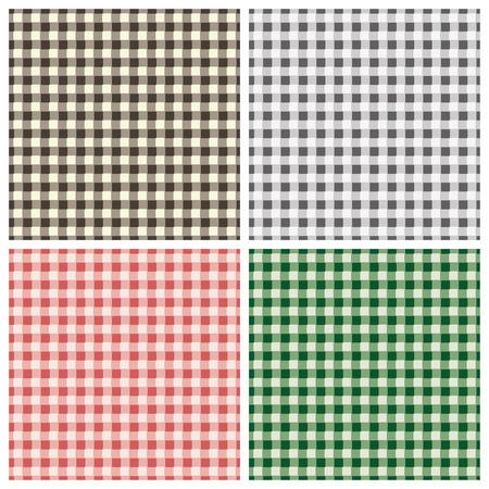 plaited: Seamless checkered pattern