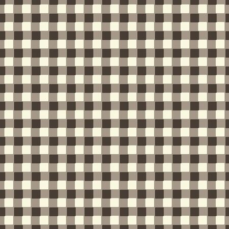displace: Warm gray seamless checkered pattern