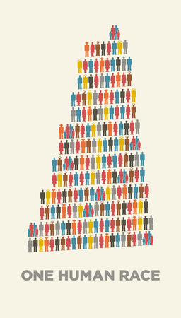 fraternity: babel tower in isotype pictograms