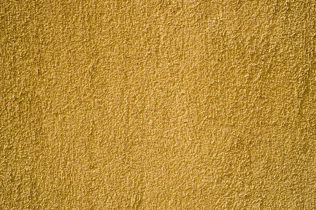 covering: yellow plaster wall covering