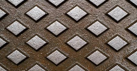 Foundry design for manhole cover