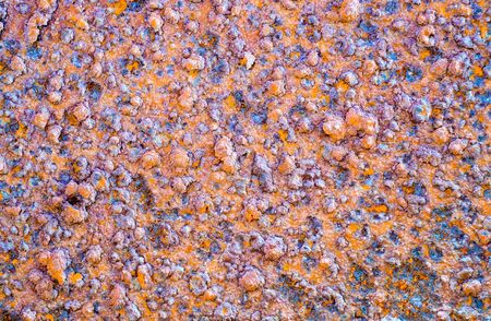 corroded: Heavy corroded and rusty iron board surface