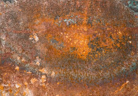 corroded: rusty corroded plate