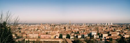 bosco: Bologna cityscape viewed from the church of San Michele in Bosco