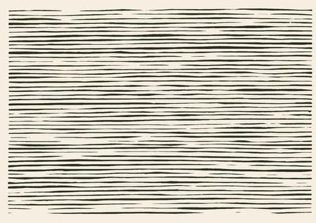 不規則なライン パターンをカット紙  イラスト・ベクター素材