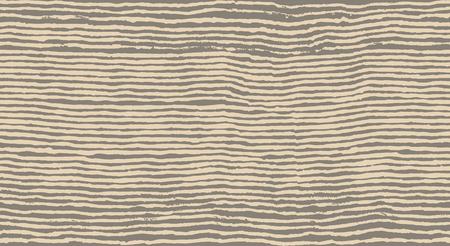 grunge brush painted horizontal lines seamless pattern Illustration