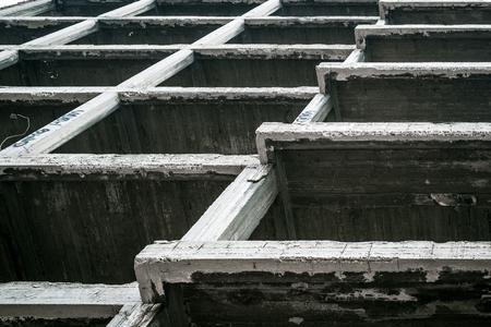 reinforced concrete building structure Stock Photo