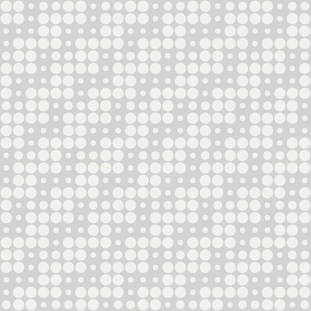Geometric seamless optical dotted pattern Illustration