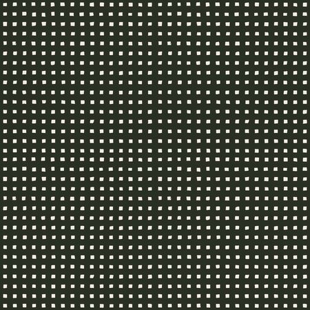 hand perforated pattern with irregular square holes. seamless texture