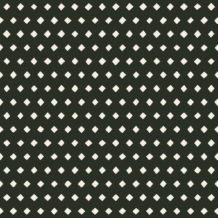 hand made perforated pattern with irregular rhombus holes. seamless texture Ilustração