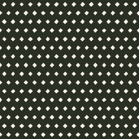 hand made perforated pattern with irregular rhombus holes. seamless texture