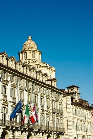 italian architecture: Italian Architecture, Building in Piazza Castello in Turin.
