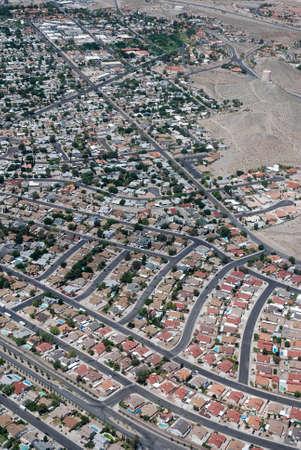 Urban scene of LAs Vegas , Nevada Stock Photo