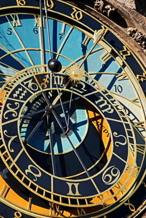 czech culture: The Prague Astronomical Clock or Prague Orloj .The Orloj is mounted on the southern wall of Old Town City Hall in the Old Town Square and is a popular tourist attraction.