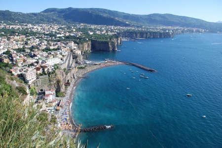 Côte de Sorrente en Italie Banque d'images - 39363915