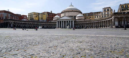 plebiscite: Piazza Plebiscito is the largest square in Naples. It is named for the plebiscite taken in 1860 that brought Naples into the unified Kingdom of Italy.