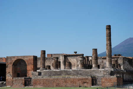past civilization: Pompeii is a ruined and partially buried Roman town-city near modern Naples in the Italian region of Campania, in the territory of the comune of Pompei.