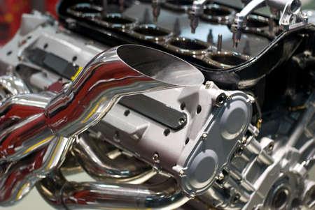 1: Motor Formula 1 Stock Photo