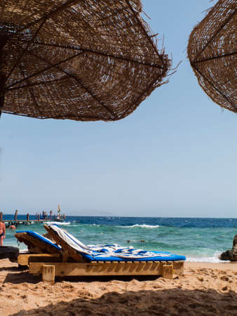 red sea: beaches of the Red Sea Stock Photo