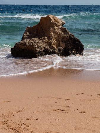 sharm: view sea from the beach of Sharm alSheikh