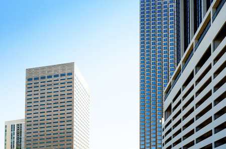 exterior architecture: Skyscraper in Miami , USA