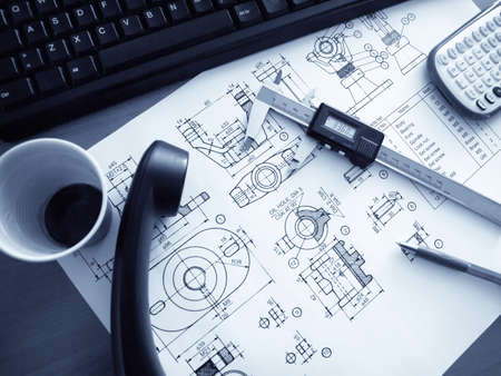 Computer and design of mechanical parts