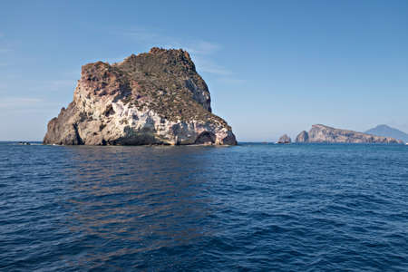 aeolian: Cliff on the Mediterranean Sea