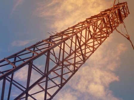 electricity pylon: Electricity Pylon Stock Photo