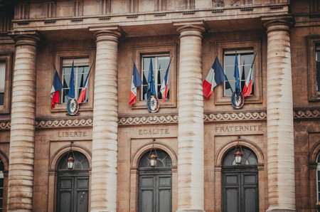 Paris France palace of justice palais de justice is the center of the french legal system Banque d'images