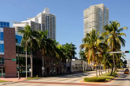 miami florida: Skyscraper in Miami , Florida,  USA