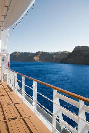クルーズ船、旅行、休暇 写真素材