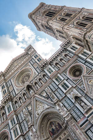fiore: Santa Maria del Fiore - Duomo Cathedral in Florence, Italy Stock Photo