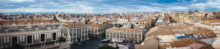 catania: cityscape of Catania Sicily Italy