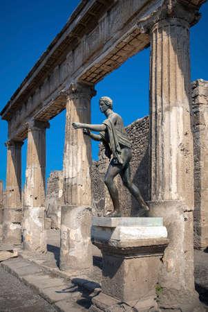 Pompeii. Statue of Apollo