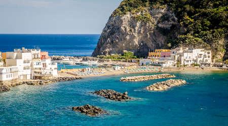 A view of SantAngelo in Ischia island
