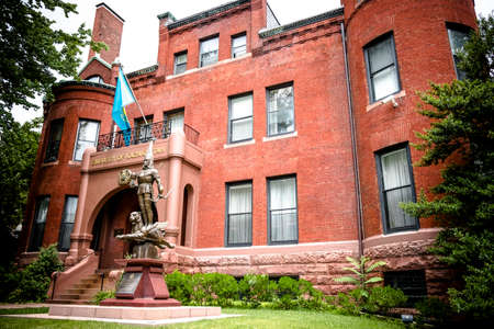 Ambasciata del Kazakistan a Washington DC Archivio Fotografico - 82218212