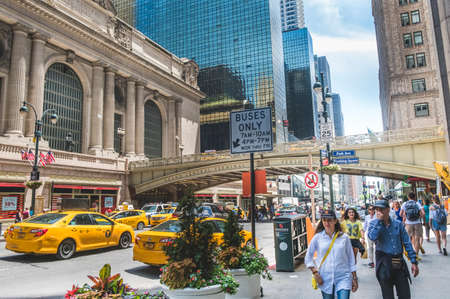 Grand Central along 42nd Street, New York City