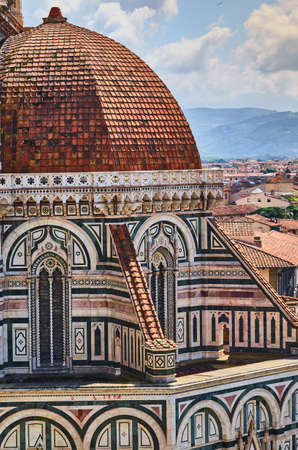 Duomo Cathedral Santa Maria del Fiore Church Florence Banque d'images - 125270268