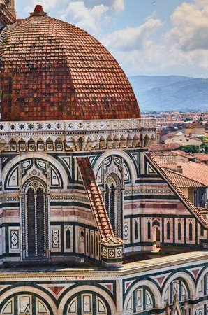 Duomo Cathedral Santa Maria del Fiore Church Florence Stock Photo