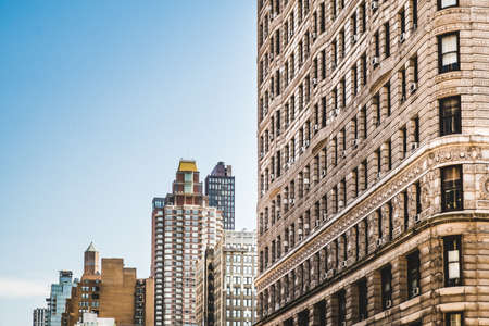 group of buildings in midtown in New York City Banque d'images