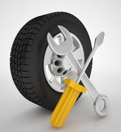 car wheel repairing service